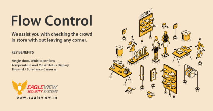 Crowd Flow Control - Eagle View Security Systems